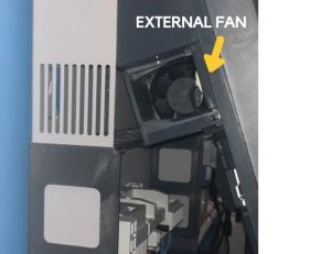 Fronius external fan