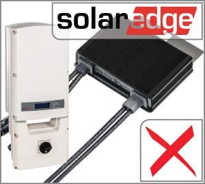 SolarEdge blocking issues