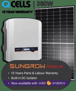 Solar Panels Brisbane Sungrow Premium